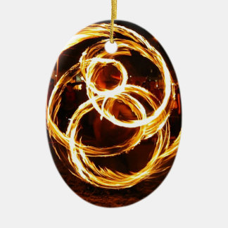 Spinning Fire - Abstract Ornament
