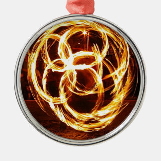 Spinning Fire - Celtic Knot Metal Ornament