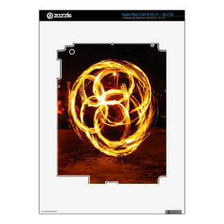 Spinning Fire - Celtic Knot Skin For iPad 3