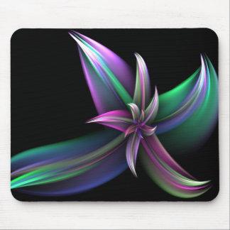 Spinning Flower Mousepad