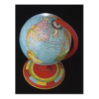 Spinning Globe Postcard