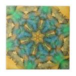 Spinning Hexagon Ribbon Dec 2012 Ceramic Tiles