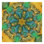 Spinning Hexagon Ribbon Dec 2012 Posters