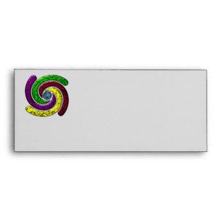 Spinning in a circle envelope