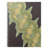 """Spinning Lights"" Notebook Back To School"