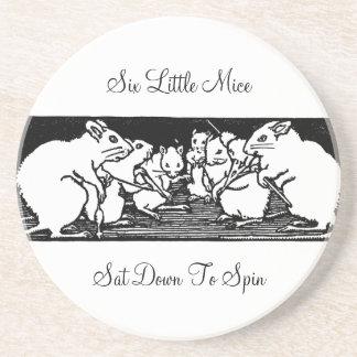 Spinning Mice Nursery Rhyme Coaster