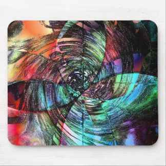 Spinning out of Control Mouse Pad