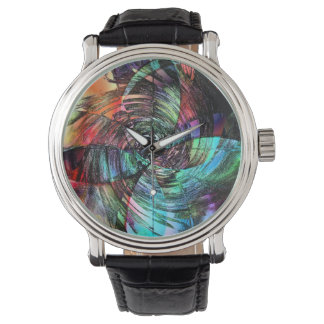 Spinning Out of Control Wristwatch