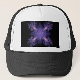 Spinning Pinwheel Fireworks Fractal Art Design Trucker Hat