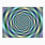 Spinning Postcard