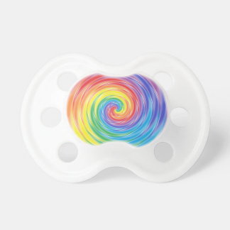 Spinning Rainbow Pacifier BooginHead Pacifier