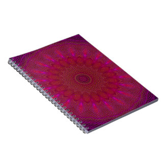 Spinning Soul Kaleidoscope Notebook