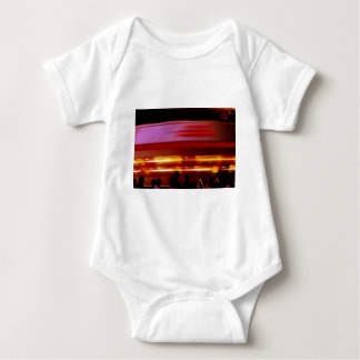 Spinning Spaceship Baby Bodysuit