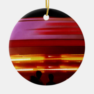 Spinning Spaceship Ornament