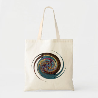 Spinning Star Budget Tote Bag