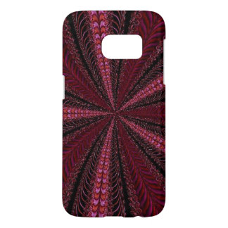 Spinning Streams of Swirling Pink Abstract Samsung Galaxy S7 Case