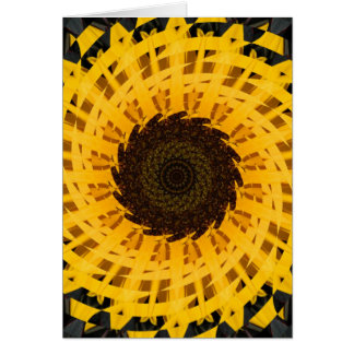 Spinning Sunflower Greeting Card