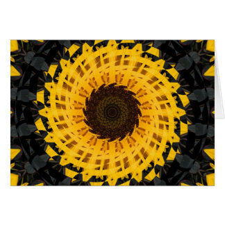 Spinning Sunflower Greeting Cards