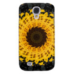 Spinning Sunflower Galaxy S4 Covers
