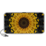 Spinning Sunflower PC Speakers