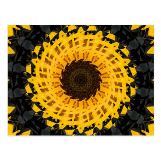 Spinning Sunflower Post Cards