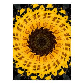 Spinning Sunflower Postcards