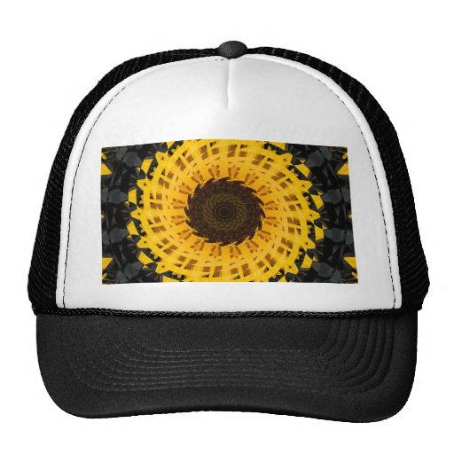 Spinning Sunflower Trucker Hat