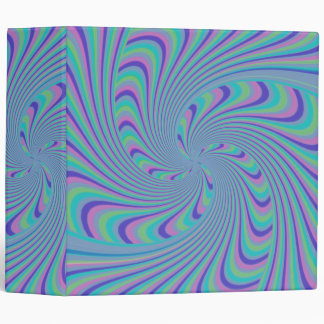 Spinning Top Abstract Binder