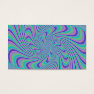 Spinning Top Abstract Business Card