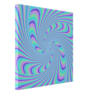 Spinning Top Abstract Canvas Print