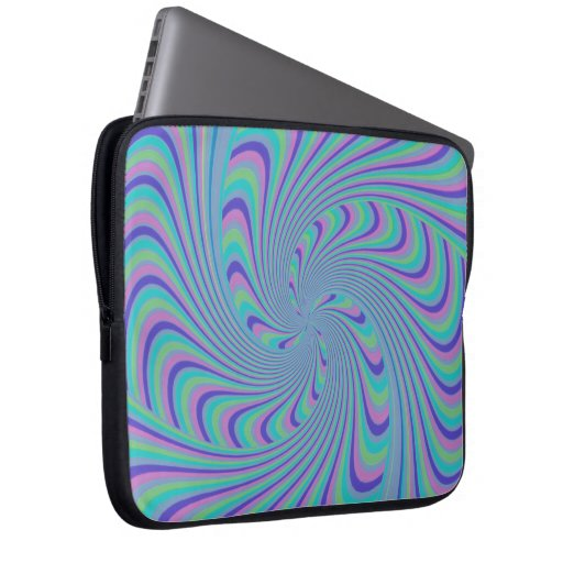 Spinning Top Abstract Computer Sleeve