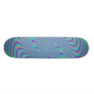 Spinning Top Abstract Skateboard Deck