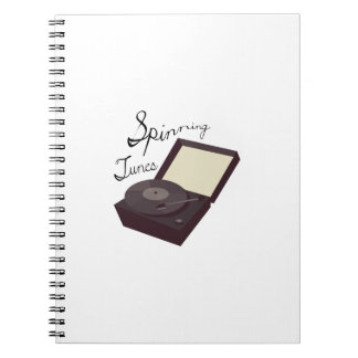 Spinning Tunes Note Books