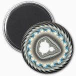 Spinning wheel - Fractal Magnet