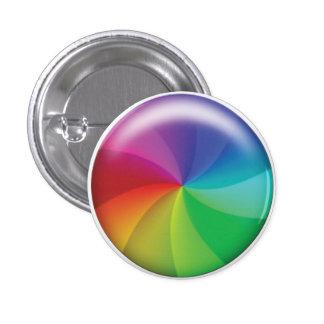 Spinning Wheel of Doom! Pinback Button