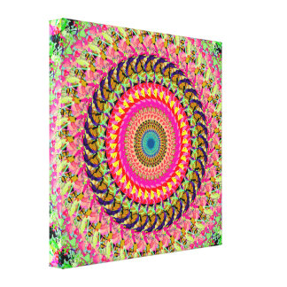 Spinning Wheel of Symmetry Canvas Print