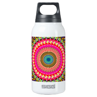 Spinning Wheel of Symmetry Insulated Water Bottle