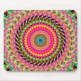 Spinning Wheel of Symmetry Mouse Pad