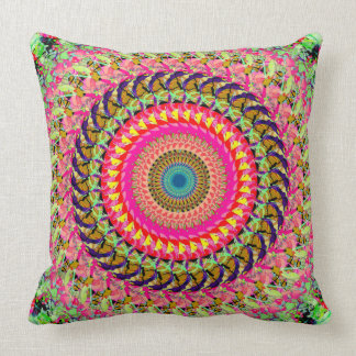 Spinning Wheel of Symmetry Pillow