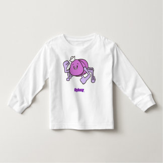 Spinny Toddler-Sized Long Sleev T-Shirt