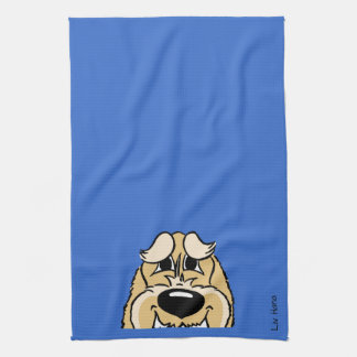 Spinone brightly Smile Hand Towel