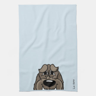 Spinone darkly Smile Hand Towel