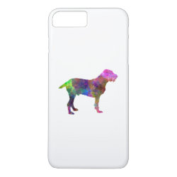 Spinone in watercolor iPhone 8 plus/7 plus case