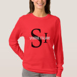 Spinone Italiano Breed Monogram T-Shirt