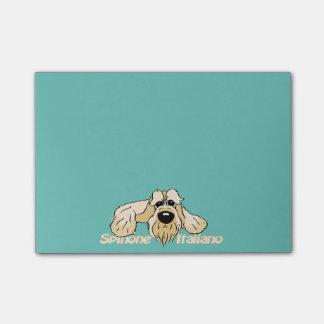 Spinone Italiano brightly head Cute Post-it® Notes