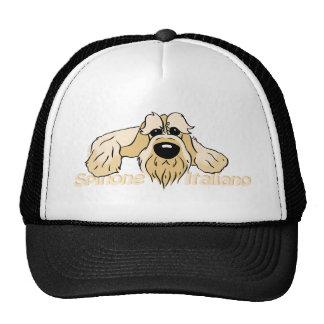 Spinone Italiano brightly head Cute Trucker Hat