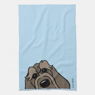 Spinone Italiano dkl. Head Towel