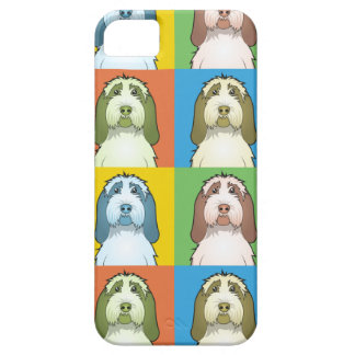 Spinone Italiano Dog Cartoon Pop-Art iPhone SE/5/5s Case