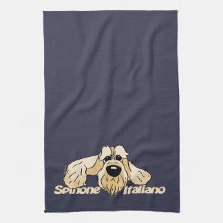 Spinone Italiano head Cute Towel