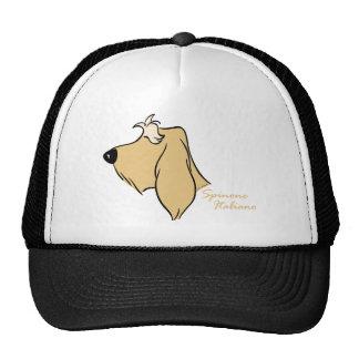Spinone Italiano head silhouette blond Trucker Hat